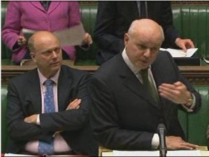 Iain Duncan Smith and Chris Grayling Being Questioned About Welfare Reform Corporate Manslaughter By Katy Clark MP In The House Of Commons
