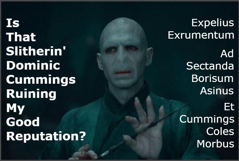 Calum List - Voldemort at DWP