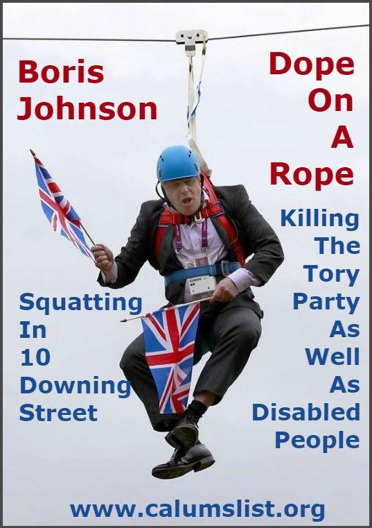 Calums List - Boris Johnson The Number 10 Squatter Photo 4